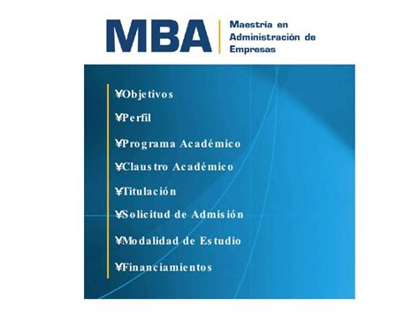 Usm Mba Part Time by Universidad Santa Mba 2010 Junio