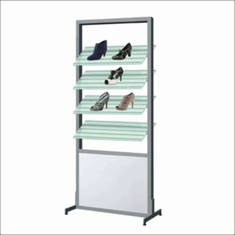 ar151 shoe display shelf system with mirror offered by cns