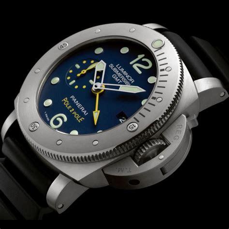 Panerai Luminor Submersible 1950 Gmt Titanium Pam719 Pole2pole Replica timezone industry news 187 n e w m o d e l officine