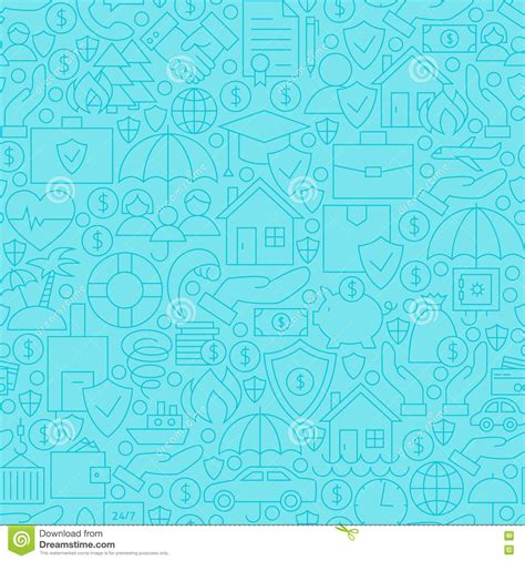 pattern making business piggy bank pattern in blue background vector vector
