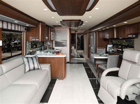 modern interiors for a modern motorhome story