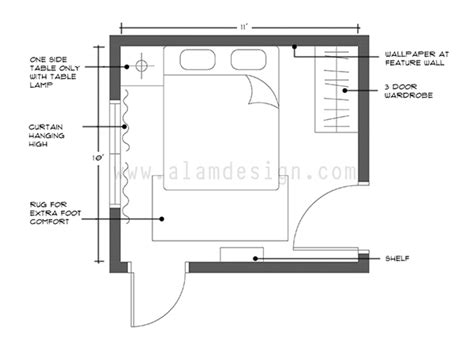 layout plan bedroom e decorating hazlam anuar