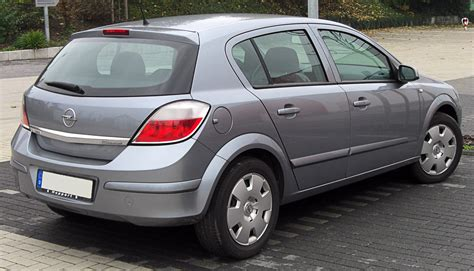 Opel Astra H by File Opel Astra H Rear 20091011 Jpg Wikimedia Commons