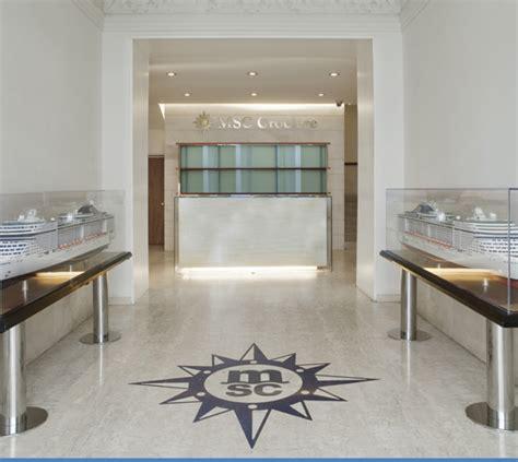 sede msc uffici direzionali reception lounge ristoro pietra