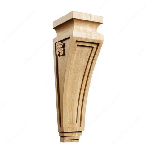 Decorative Shelf Corbels Mission Shaker Corbel Ms13 Richelieu Hardware