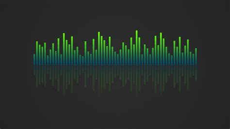 visualizer music music visualizer 4k wallpaper blue green by rv770 on