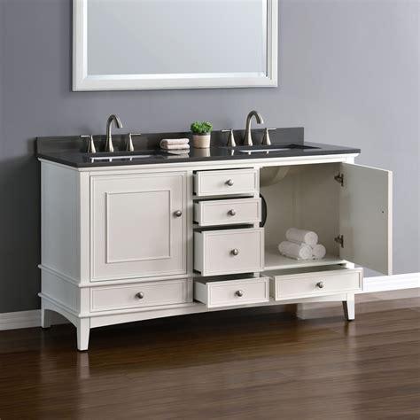quartz  bathroom vanity white cabinet double sink basin hardwood gray quartz ebay