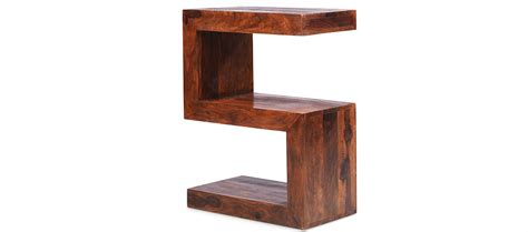 wood cube side table cube sheesham side table quercus living