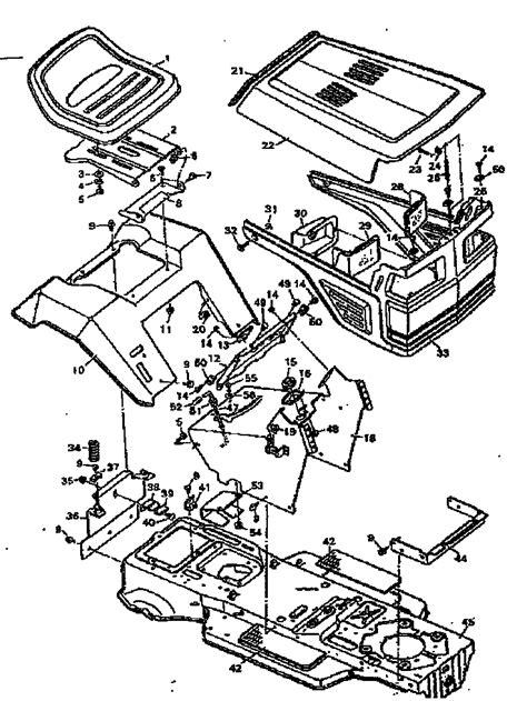 craftsman lawn tractor parts diagram craftsman craftsman lawn tractor parts model 502255752