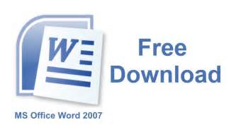 Office Word Ms Office Word 2007 Free