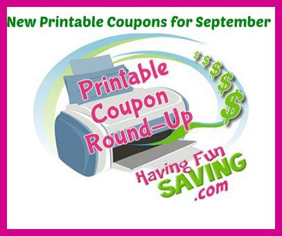 pers printable coupons september 2015 printable coupons for september 2015