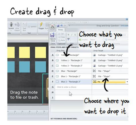 design html page with drag and drop creating a drag and drop interaction e learning heroes