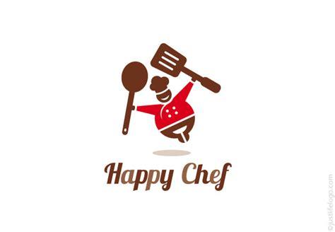 %name restaurant logo design   Happy Chef Logo   Great Logos For Sale