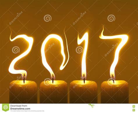 candele foto buon anno 2017 candele fotografia stock immagine 79938233