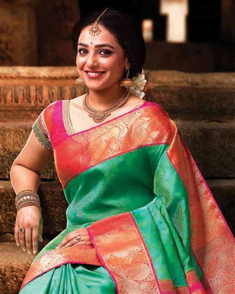 nithya menon wedding photos 9 gorgeous sarees worn by nithya menon that will turn you