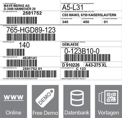 Etiketten Erstellen Mit Barcode by Kostenlose Qr Code Software Gratis Barcodes