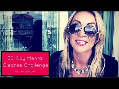 30 Day Mental Detox by 30 Day Mental Cleanse Challenge I Nadyamelton
