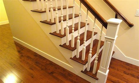 wood stair treads installation vancouver   Carpet