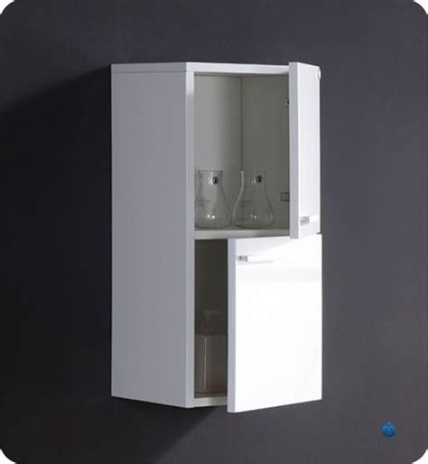 12 5 fresca fst8091wh white bathroom linen side cabinet