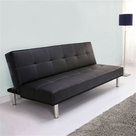 Leather Sofa Beds Sofas Bed Mattress S3net Sectional Thesofa Sofa Bed Leather Black