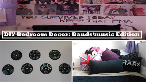 the bedroom band diy bedroom decor bands music edition youtube