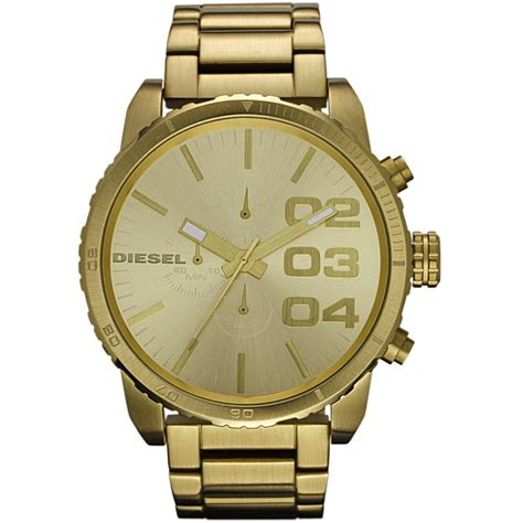 Diesel Gold mens gold watches mens watches gold