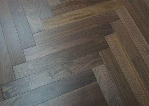 walnut herringbone pattern flooring ( esp. American walnut