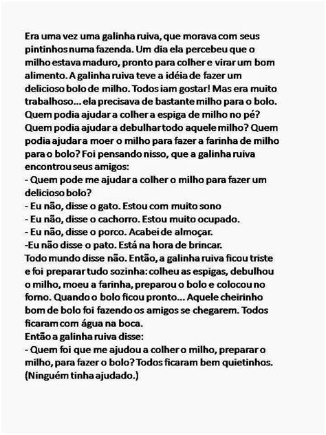 Prof. Sueli Bastos: Projeto: Galinha Ruiva