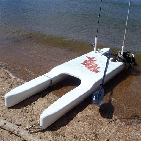 fishing paddle boat fly carpin diy standamaran stand up paddleboard plans