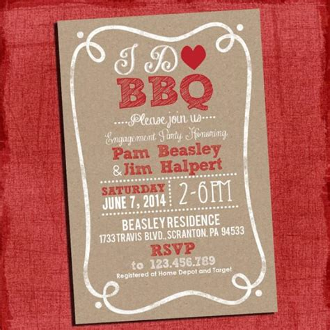 bbq themed bridal shower ideas 2 printable rustic quot i do quot bbq barbecue couples coed wedding