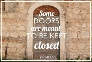 closing doors quotes quotesgram