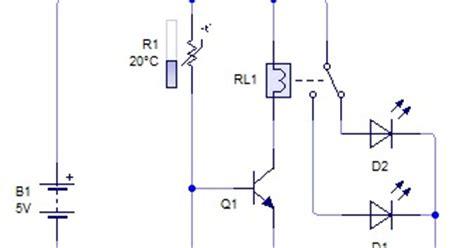 transistor yang digunakan pada rangkaian analog rangkaian sensor suhu sensor suhu dengan thermistor belajar elektro robotika pemrograman