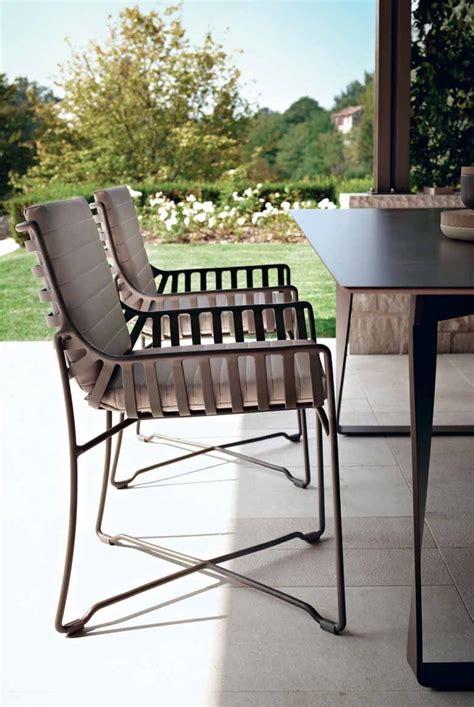 hamptons graphics metal garden chair by roberti rattan design roberto papparotto gian vittorio
