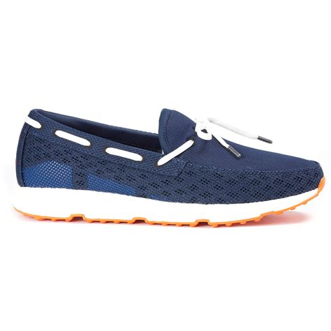 swims shoes swims shoes leap laser loafer in navy
