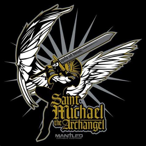 st michael the archangel mantled catholic clothing