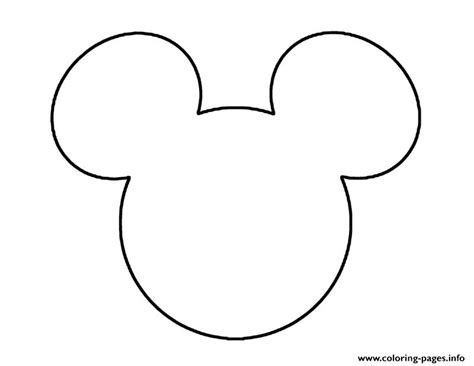 Disney Logo Coloring Page | mickey mouse colouring pages printable search results