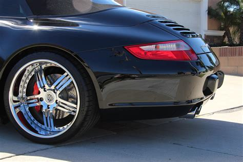 custom porsche wheels porsche 911 4s with custom porsche rims 2006