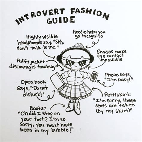 libro introvert doodles an illustrated introvert doodles introvert fashion guide