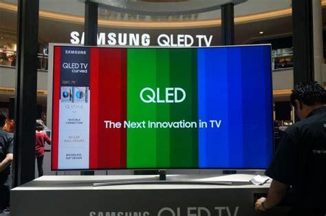 Tv Samsung Kecil pandang pertama samsung qled tv televisyen beresolusi