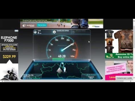 speed test fibra speed test fibra fttc telecom 50 mb 10 mb