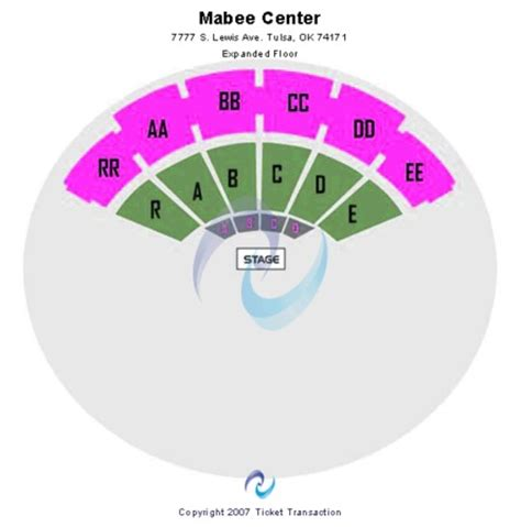 mabee center seating mabee center tickets in tulsa oklahoma mabee center