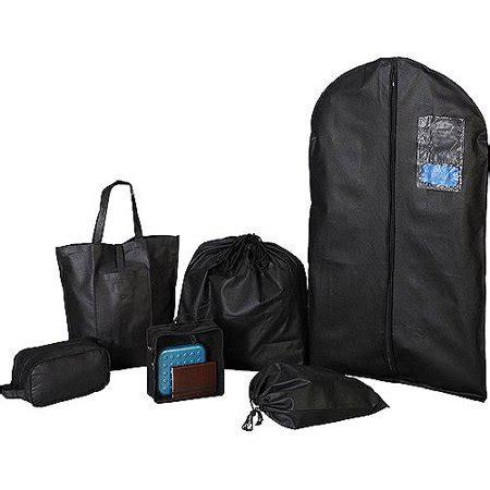 protege 6 travel bag set black walmart