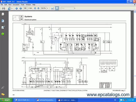 deutz fahr repair manuals wiring diagrams use and