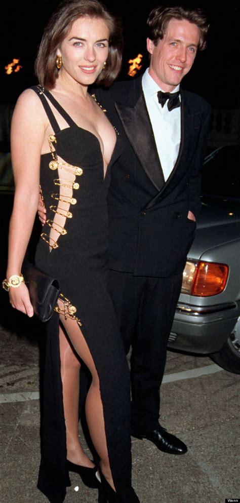 Buy Elizabeth Hurleys Safety Pin Versace Dress by Liz Hurley Versace Safety Pin Dress At The Four Weddings