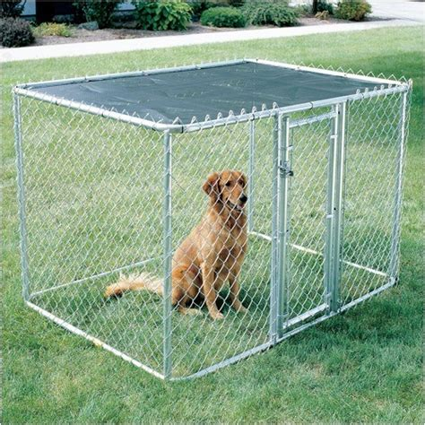 Dog Lamps Home Decor by Chain Link Portable Dog Kennel Modern Dog Kennels And