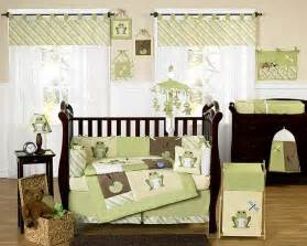 cute baby crib nursery bedding set 226 leap frog from jojo design kidsomania