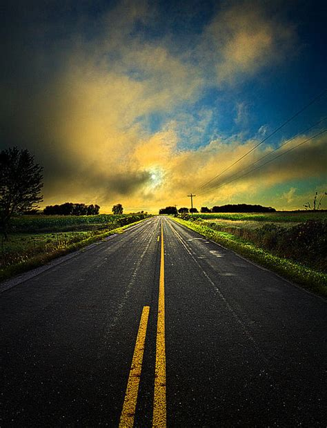 journey back to me touring the landscape of my mind books is a highway photograph by phil koch