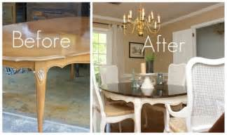 Painting Dining Room Table Painting Furniture Today S Creative