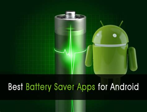 5 free battery saver apps for android