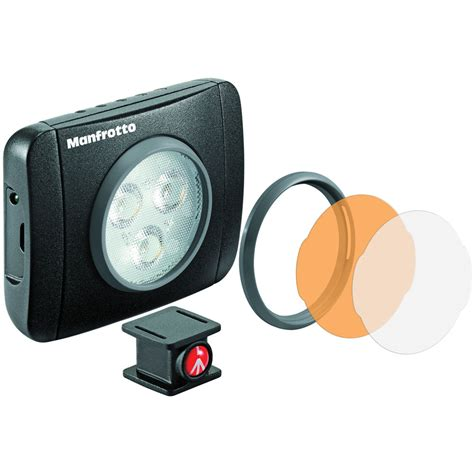 Manfrotto Lumimuse Mount manfrotto lumimuse 3 on led light black mlumiepl